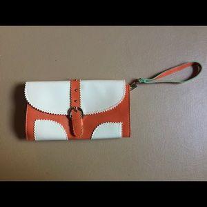 🍂2 for $15🍂 Orange Vintage Wallet